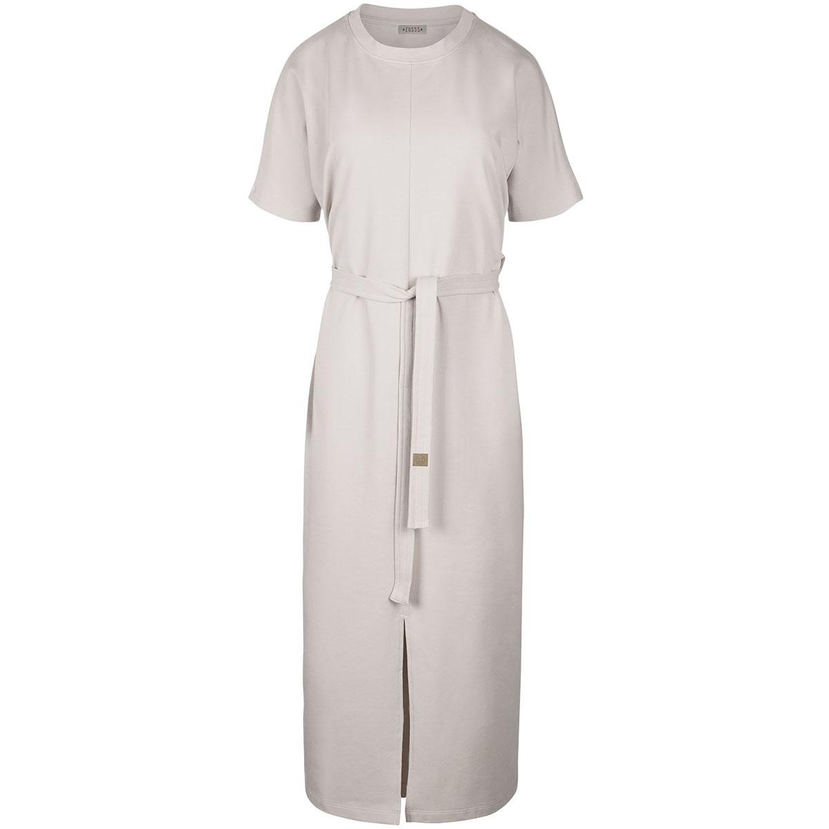 03lj19v hippe lange jurk zusss jurk ckr krijt
