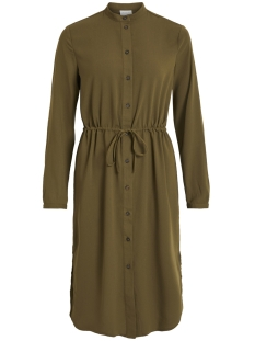Vila Jurk VIMIRUNA L/S SHIRT DRESS 14051469 Dark Olive