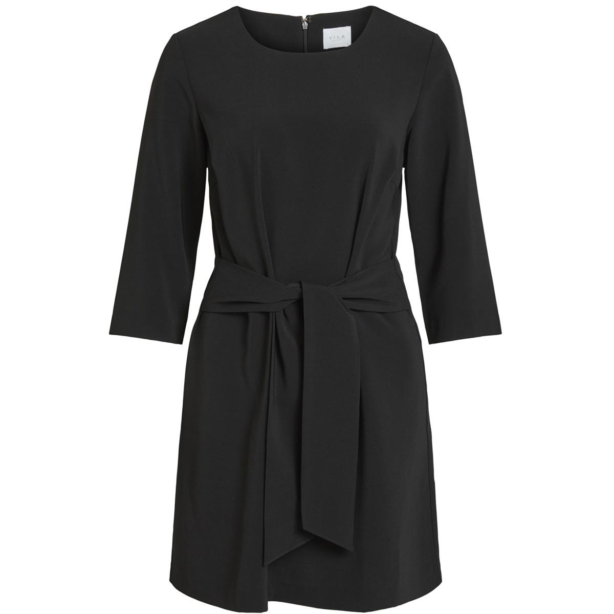 vinathalia tie band dress 14052648 vila jurk black