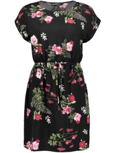 vmsimply easy ss short dress 10211514 vero moda jurk black/laila bl