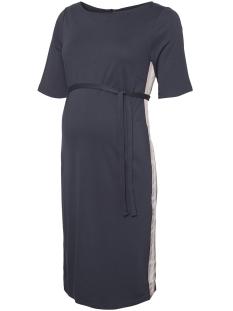 Mama-Licious Positie jurk MLTINE BLACKIE 2/4 JERSEY ABK DRESS 20008754 Ombre Blue/TAPE FOX G