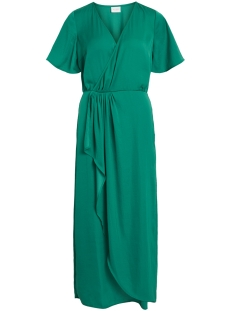 Vila Jurk VIFLOATING 2/4 ANKLE DRESS/ZA 14050506 Pepper Green