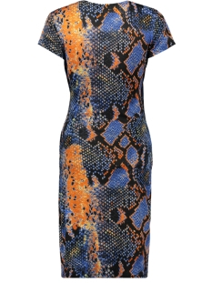 dress snake 3320 iz naiz jurk orange