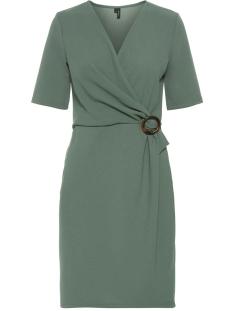 vmisa 2/4 sleeve dress sb3 10216685 vero moda jurk laurel wreath
