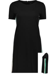 Only Jurk ONLBRILLIANT S/S DRESS JRS 15182840 Black/BAND IN