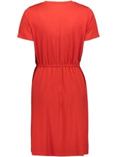 pccath ss solid dress 17097513 pieces jurk aura orange
