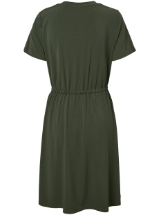 pccath ss solid dress 17097513 pieces jurk beech