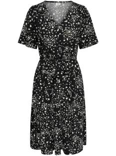 Jacqueline de Yong Jurk JDYTHEA S/S DRESS JRS 15176806 Black/FLOWER AOP