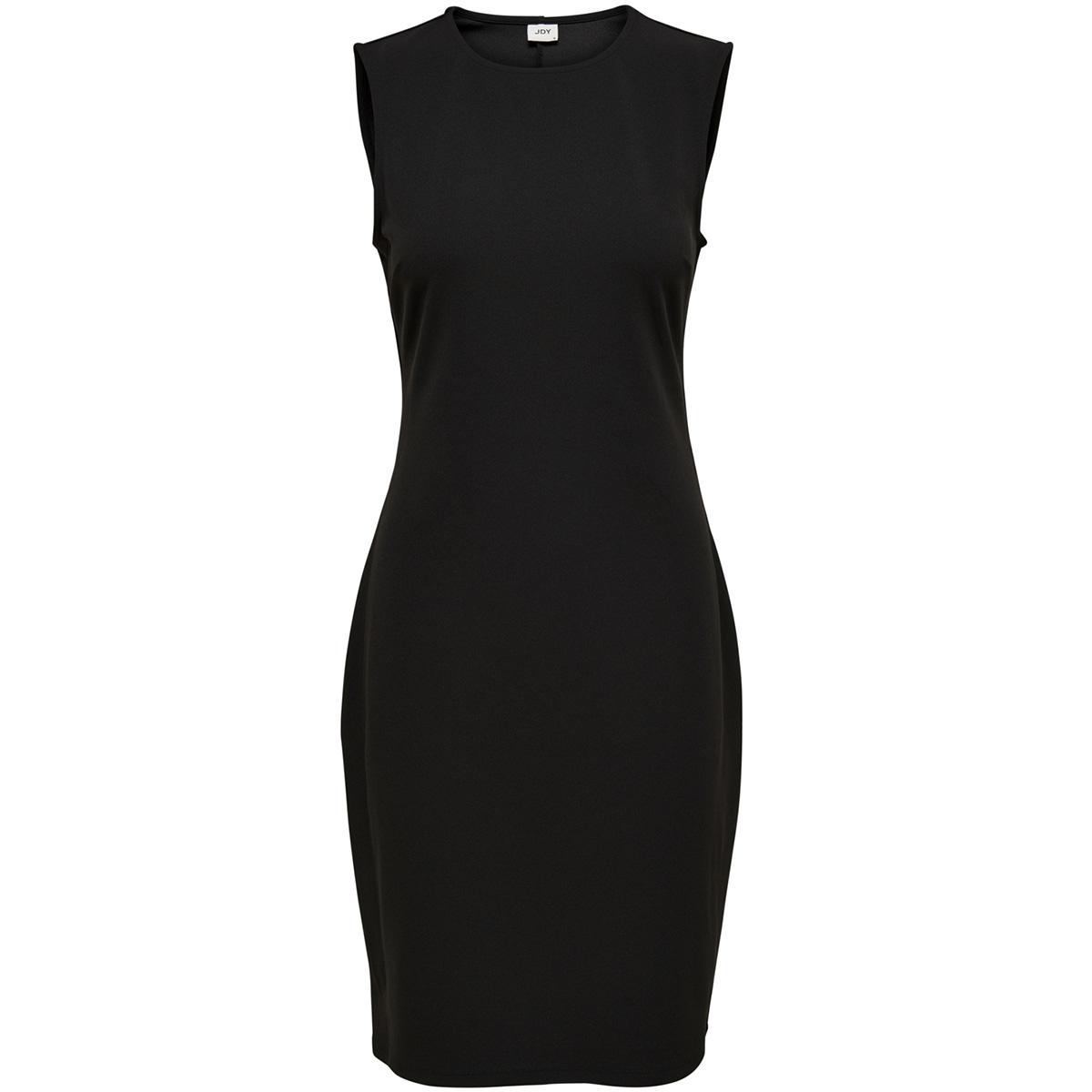jdyvanda s/l dress jrs exp 15167494 jacqueline de yong jurk black
