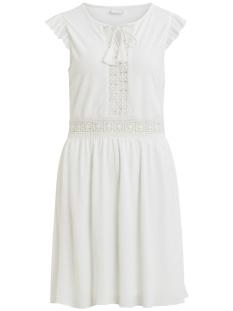 Vila Jurk VIPETRA NEW S/L DRESS 14052271 Cloud Dancer