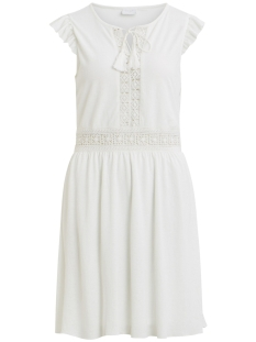 vipetra new s/l dress 14052271 vila jurk cloud dancer