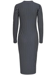 jdynola l/s striped dress jrs 15170912 jacqueline de yong jurk sky captain/cloud dancer