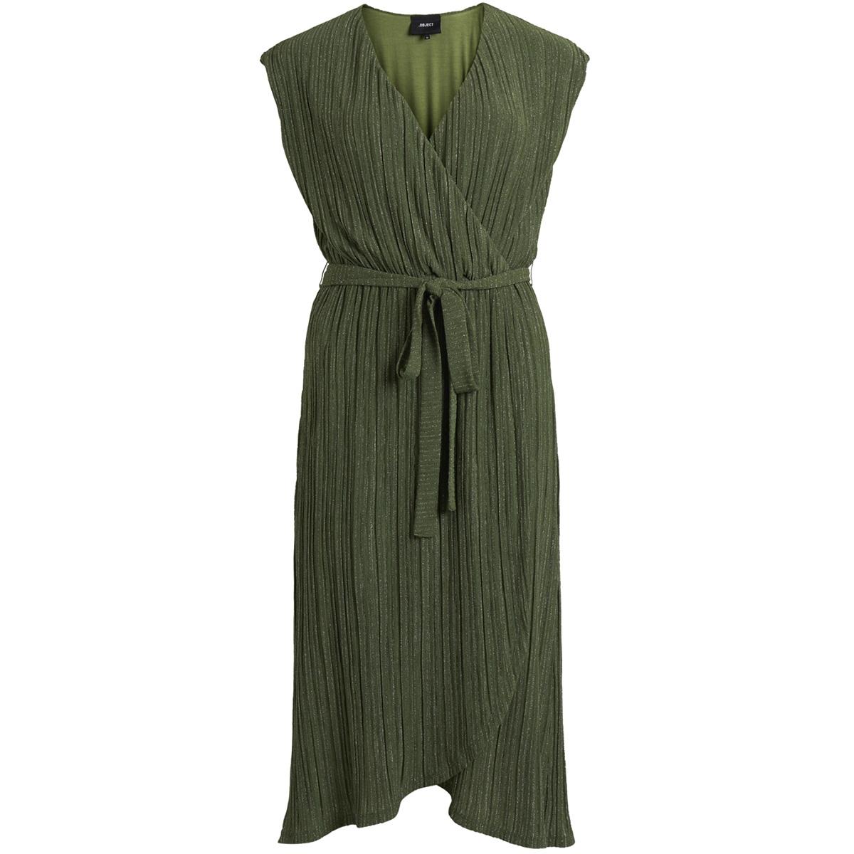 objstormi s/l jersey dress 102 23029313 object jurk black forest