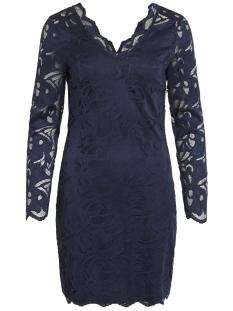 vidaimy l/s dress 14051477 vila jurk navy blazer