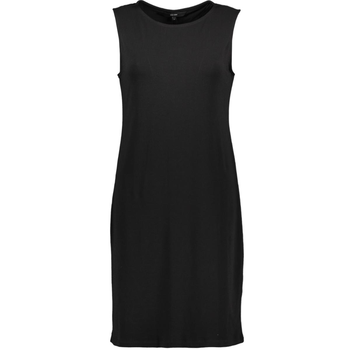 vmmilla sl short dress color 10215119 vero moda jurk black