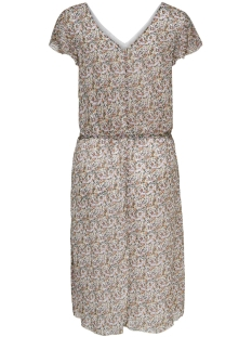 jdyjennifer s/s midi frill dress wv 15171679 jacqueline de yong jurk shadow gray/thymes lea