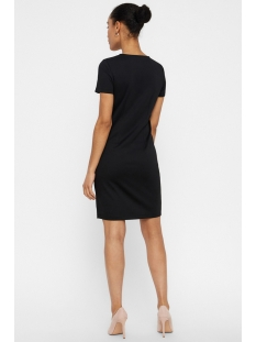 vmvigga slim short dress color 10212965 vero moda jurk black