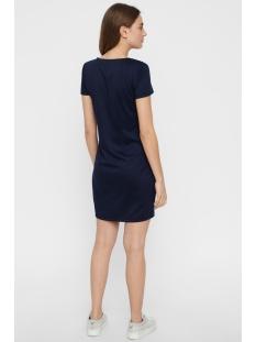 vmvigga slim short dress color 10212965 vero moda jurk night sky