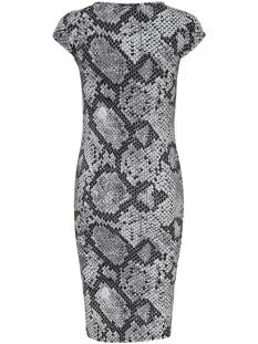 onlmallika capsleeve leo dress jrs 15169803 only jurk black/snake