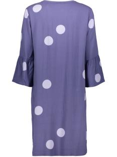 polka dot jurk met trompet mouwen 23001525 sandwich jurk 70017