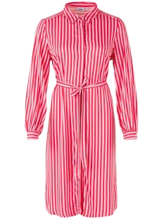 Saint Tropez Jurk STRIPED SHIRT DRESS T6181 7360