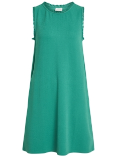 Vila Jurk VISALDA S/L DRESS 14051888 Pepper Green