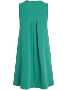 visalda s/l dress 14051888 vila jurk pepper green