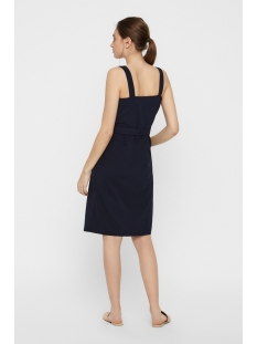 vmmille sl button blk dress jrs 10212952 vero moda jurk night sky