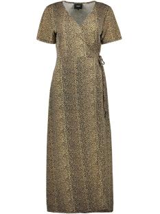 objemma leo s/s dress 102 div 23030204 object jurk black/black leo