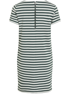 vitinny new s/s dress - noos 14032604 vila jurk garden topiary/snow white