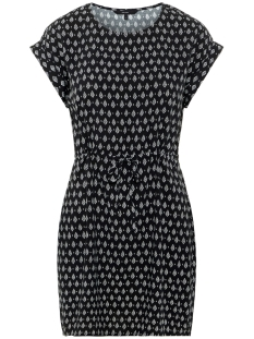 e06e262df67cf9 -20% Vero Moda Jurk VMSIMPLY EASY SS SHORT DRESS 10211514 Black REBECCA