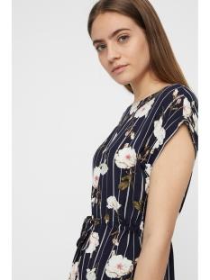 vmsimply easy ss short dress 10211514 vero moda jurk night sky/tuva