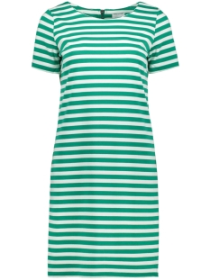Vila Jurk VITINNY NEW S/S DRESS - FAV 14044396 Pepper Green/SNOW WHITE