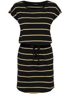 ONLMAY S/S DRESS NOOS 15153021 Black/DOUBLE YOLK