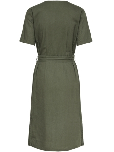 jdysierra 2/4 belt midi dress wvn 15181596 jacqueline de yong jurk kalamata