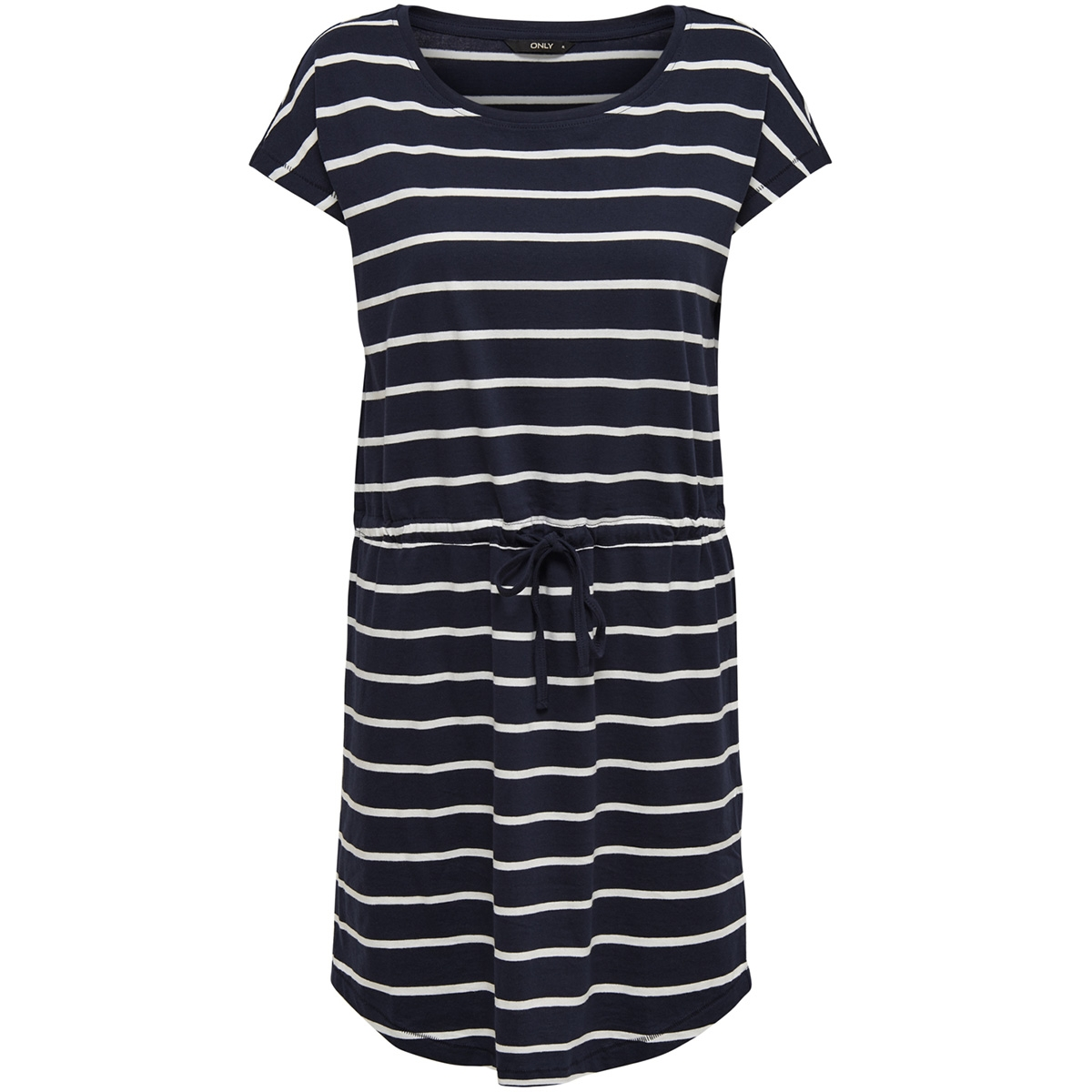 onlmay s/s dress noos 15153021 only jurk night sky/primo stripes