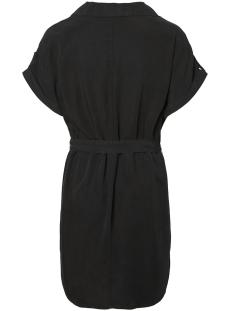 nmvera s/s endi tencel shirt dress 27005660 noisy may jurk black