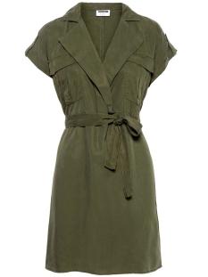NMVERA S/S ENDI TENCEL SHIRT DRESS 27005660 Olive Night