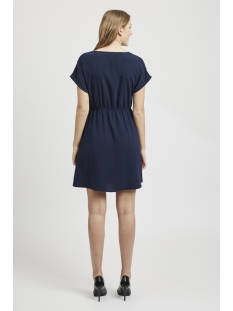 vilaia s/s dress-fav nx 14052753 vila jurk navy blazer