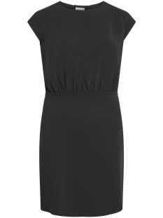 vilaia s/l back detail dress-fav nx 14052748 vila jurk black