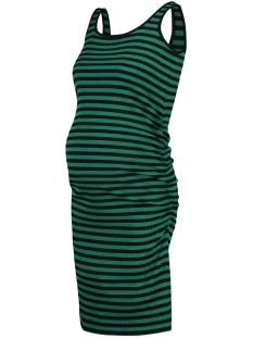 SuperMom Positie jurk BASE STRIPE S0955 CADMIUM GREEN STRIPE