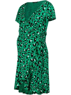 SuperMom Positie jurk WRAP DRESS S0957 EMERALD