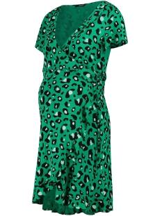 SuperMom Positie jurk WRAP DRESS S0957 EMERALD