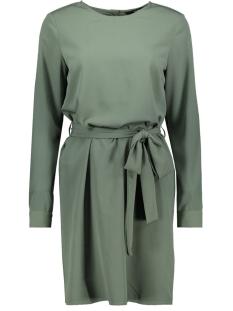 Vero Moda Jurk VMCRYSTAL L/S SHORT DRESS WVN 10213855 Laurel Wreath