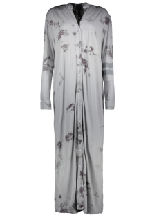 10 Days Jurk LONG SHIRT DRESS TIE 20 403 9101 ELEPHANT