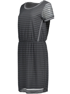 transparante mesh jurk 23001555 sandwich jurk 80043
