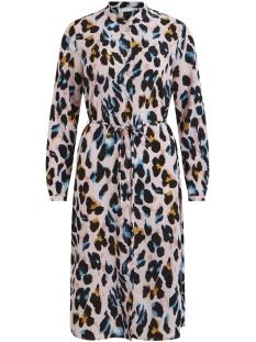 Vila Jurk VIKUMIA L/S SHIRT DRESS/ZA 14055222 Begonia Pink
