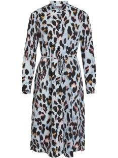 Vila Jurk VIKUMIA L/S SHIRT DRESS/ZA 14055222 Powder Blue