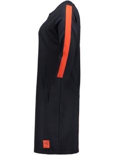 sweat dress sr1934 zoso jurk navy/orange red