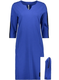 d3c8adbd5fd206 -40% Zoso Jurk SWEAT DRESS SR1934 COBALT NAVY